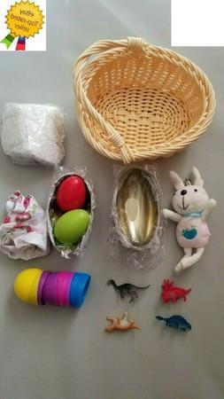 Easter Egg Toy Basket Kits for Kids