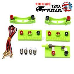 Educational Electric Circuit Kit Child Kids Student School D