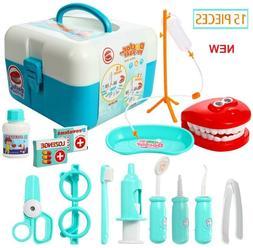 Educational Learning Toys Dentist Kit for Kids Boys Girls Ag