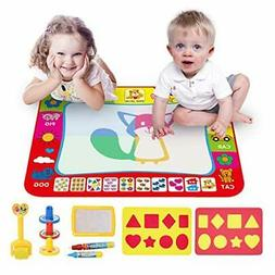 Educational Toys Water Drawing Mat for Kids Age 1 to 8 Years