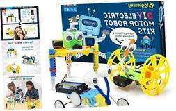 Electric Motor Robotic Science Kits, DIY STEM Toys for kids,