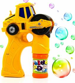 Toysery Engineering Bubble Shooter Gun Automatic Bubbling To