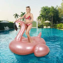 Giant Unicorn / Flamingo Float Pool Inflatable Toy Ride-On R