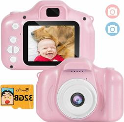 Suncity Girl Toys Gifts Kids Camera Digital for 2 3 4 5 6 7