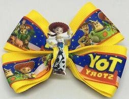 girls hair bow 4 wide toy story