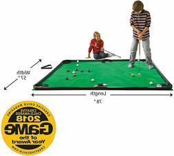 HearthSong® Golf Pool Indoor Game, Carbon Fiber - Green - 7