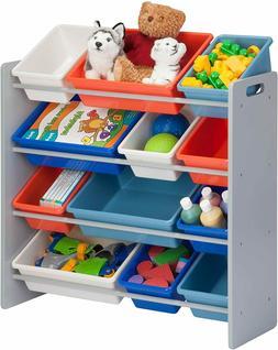 Honey-Can-Do SRT-06475 Kids Toy Organizer and Storage Bins,