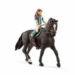 SCHLEICH Horse Club Lisa and Storm Figure Kids Toys Gift