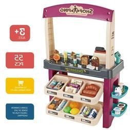 Ice Cream Shop Toy Play Set Pretend Kids Child Toddler 55 PC