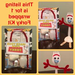 Individually Wrapped FORKY KIT TOY STORY 4 Make Your Own Par