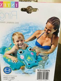 Inflatable Animal Ring Pool Float Swimming Tube Alligator Ki