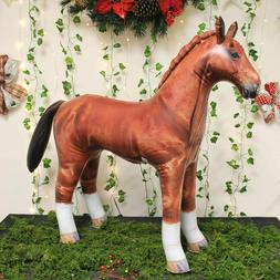 Inflatable Horse Great for pool party decoration birthday ki