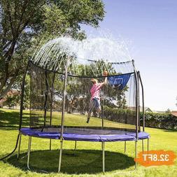 INMUA Trampoline Sprinkler, Outdoor Water Play Sprinklers fo