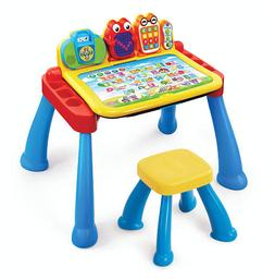 Vtech Interactive Touch & Learn Activity Desk Deluxe Kids Ed