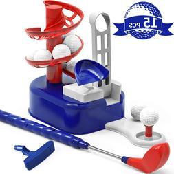Iplay, Ilearn Kids Golf Toys Set, Outdoor Lawn Sport Toy, Tr