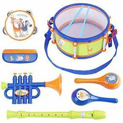 iPlay, iLearn Toddler Musical Instruments Toys, Kids Drum Se