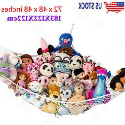Toy Hammock Net Organizer Corner Stuffed Animals Kids Hangin