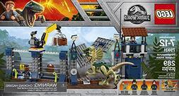 LEGO Jurassic World Dilophosaurus Outpost Attack 75931 Build