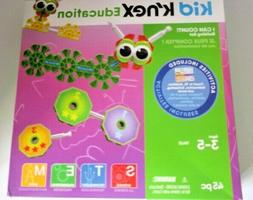 """k'nex Kid Education """"I Can Count """" Building Set 45 Pieces Ag"""