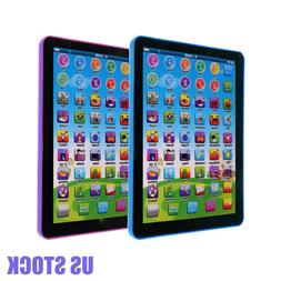 Kid Boys Educational Tablet Learning Toys Pad Gift for Girls