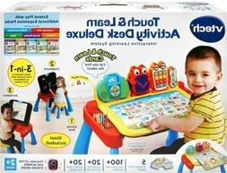 Kids Activity Desk Deluxe Chair Interactive Learning Toy VTe