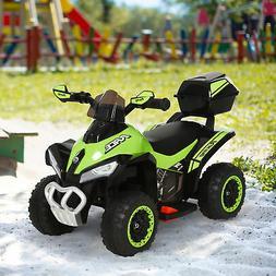 Kids ATV Motorcycle Rider Car, MP3 Storage Box for 18-36 Mon