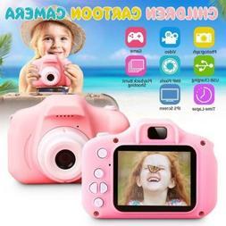 Kids Camera Children Digital Cameras for Girls Toys 1080P To