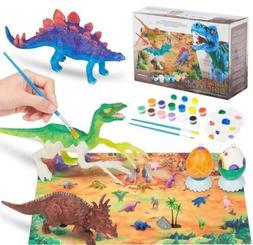 Kids Crafts and Arts Set Painting Kit Dinosaurs Toys Art Cra