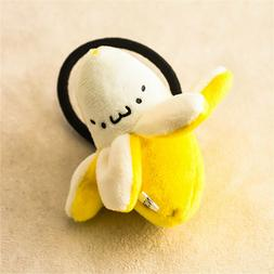 kids hair accessories banana plush toy decor