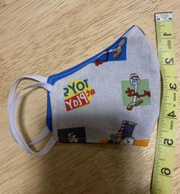 Kids Handmade Reusable Face Mask, Washable, Cotton Toy Story