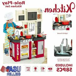 "Kids Home Kitchen Playsets With ""Window"" And Running Wat"