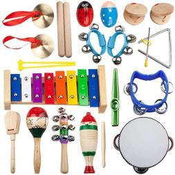 Kids Musical Mini Band Set Rhythm Instruments Xylophone Perc