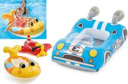 Kids Pool Beach Float Sit In Boat Cruiser Airplane Race Car