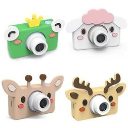 Kids Toys Children Digital Camera Memory Card Included Carto
