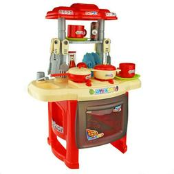Kitchen Set For Children's Home Cooking Tableware Kids  Cook