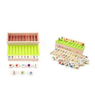 2pcs Kids Sorting Grouping Toys 8 Categories