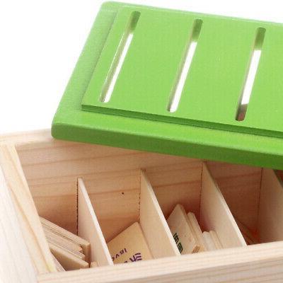 2pcs Montessori Sorting Grouping Matching 8
