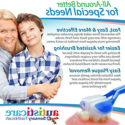 2-PK: Autisticare Only Child-Safe Toothbrush |