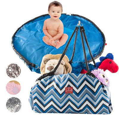 36 toy storage bag and play mat