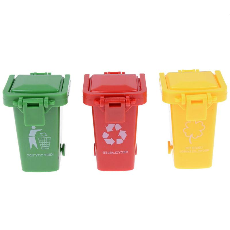 3pcs pack trash garbage can container gag