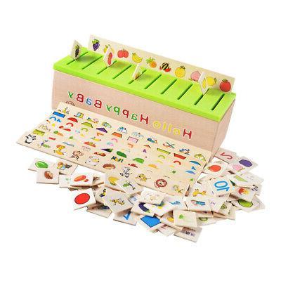 3pcs Kids Sorting Grouping Matching Toys 8