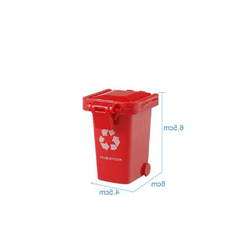 4Pcs/Set Kids Bin Novelty Garbage Can Container