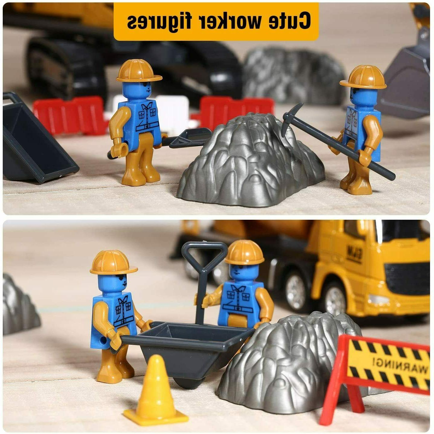 Alloy Construction Truck Toys Engineering
