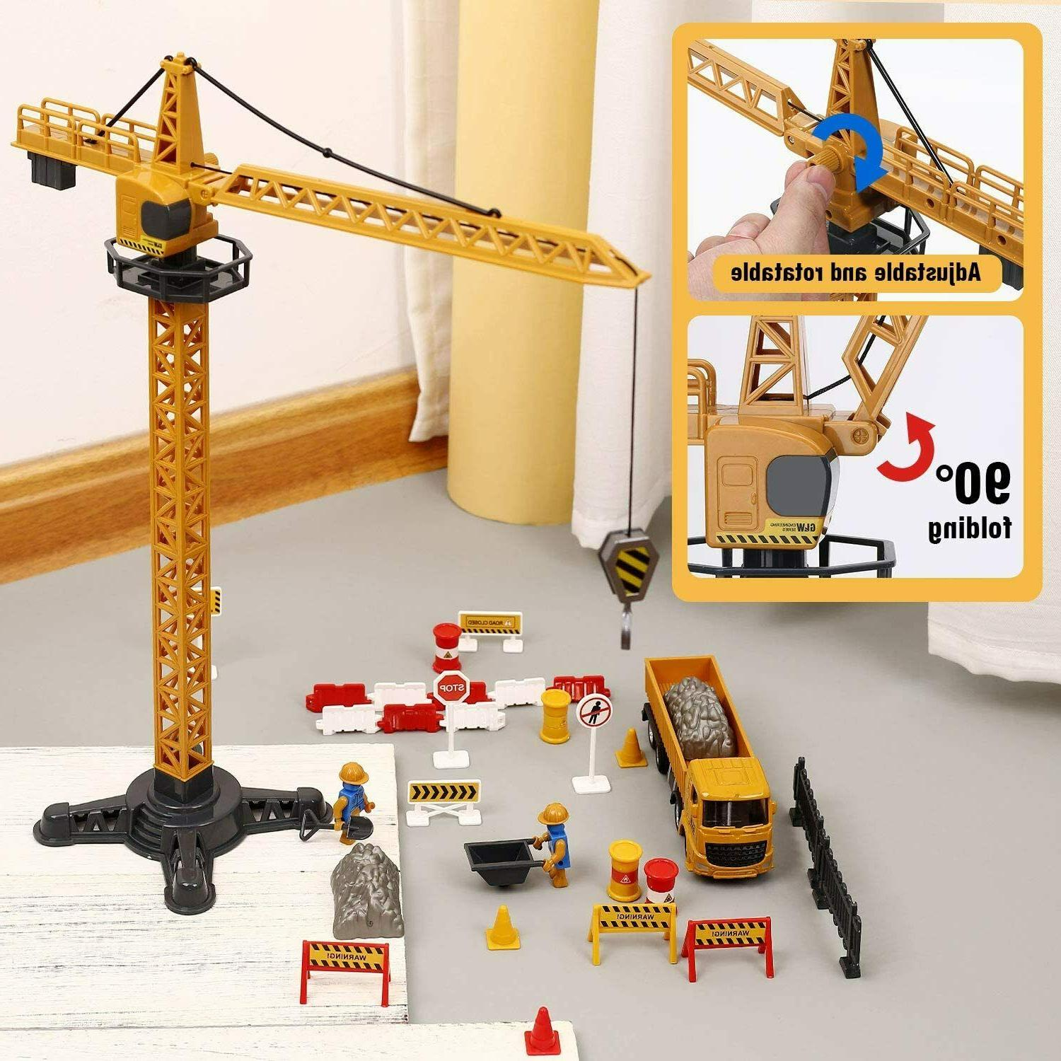 Alloy Construction Toys Engineering Truck
