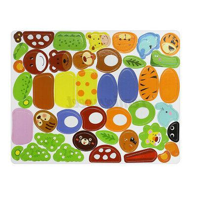 Animal Magnetic Puzzle Wooden Kids Play & Education