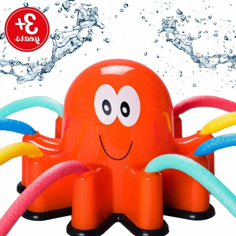 atlasonix outdoor water sprinkler spray for kids