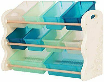 B. spaces – Totes Tidy Organizer Set Storage Unit
