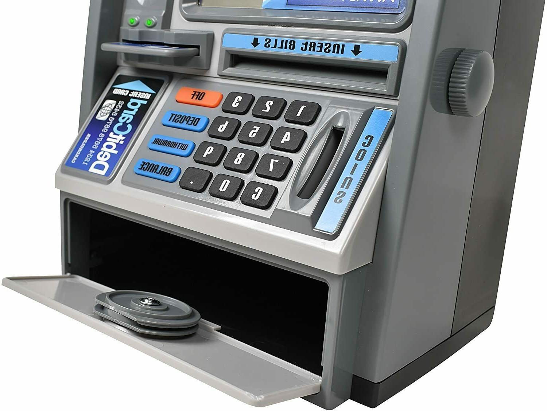 Ben Talking ATM Machine Savings Piggy Bank Scree