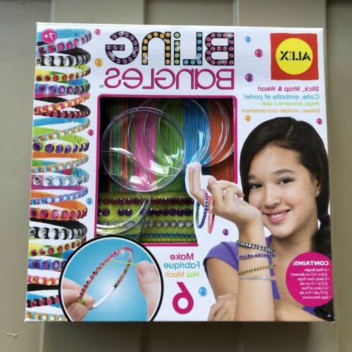 bling bangles bracelet maker kit new kids