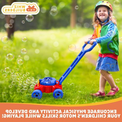 WhizBuilders Mower Toddlers Kids Outdoor -